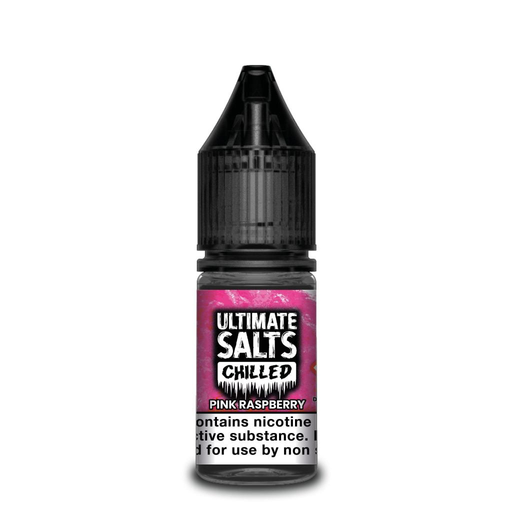 Ultimate Salts Chilled - Pink Raspberry - 10ml